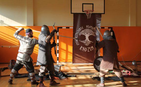 Stowarzyszenie Historyczne Grodu Radzim w naszej szkole