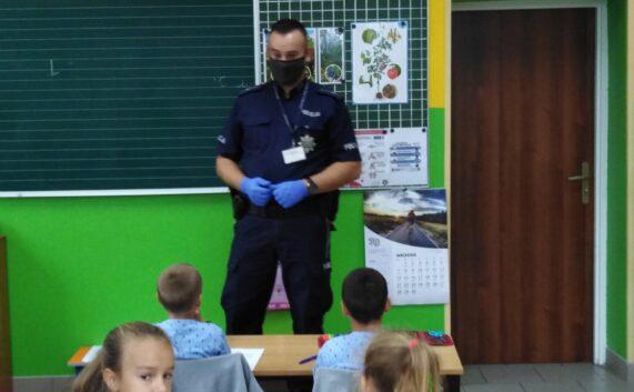 Spotkanie z panem policjantem – bezpieczeństwo w ruchu drogowym