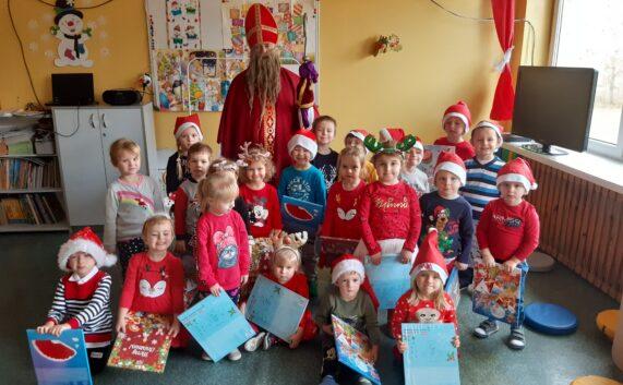 Św. Mikołaj odwiedził nasze przedszkole